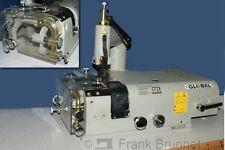 Lederschärfmaschine , 230 Volt Motor , Nähtisch, montiert  eingeschärft