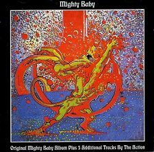 """Mighty Baby: """"S/T""""  +  5 Bonus Tracks by The Action  (CD)"""