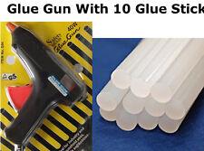 Combo Offer - Glue Gun + 10 Pcs Glue Sticks Hot Melt