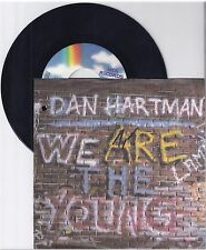 """Dan Hartman, We are the young, G/VG  7"""" Single 999-298"""