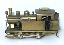 Brass HO 0-4-0 STEAM LOCOMOTIVE Engine - Worm Drive  S44