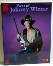 Best of Johnny Winter Play It Like It Is Guitar Songbook with Tablature