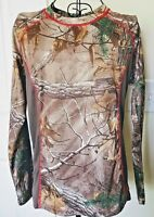 Game Winner Camouflage Pullover Medium Women's Long Sleeve RealTree Base Layer