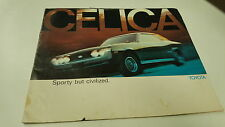 1974 TOYOTA CELICA  Sales Brochure  VERY RARE