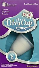 The Diva Cup Model 2 Menstrual Cup Feminine Hygiene Protection