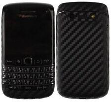 Skinomi Carbon Fiber Black Phone Skin+Screen Protector for BlackBerry Bold 9790