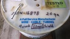 20 Gauge AWG Four Conductor Shielded Aircraft Cable Wire Mil W-16878 50 Ft