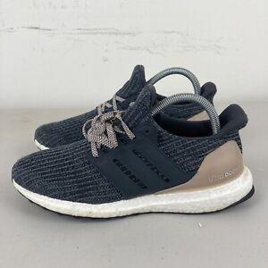 Adidas Ultraboost 4.0 Womens Running Shoes Black Grey US 8 VGC + Free Postage