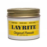 Layrite Original Pomade Water-Based Medium Hold & Shine 4.25 Ounces