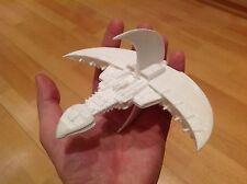 Babylon 5 Model Vorchan spaceship. Scale 1:3280. Unpainted. Assembled