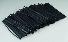 Schrumpfschlauch-set 100-teilig schwarz 10cm lang