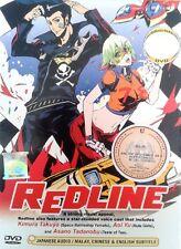 Redline Dvd Completa Anime película región NTSC todo conjunto de caja