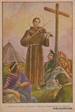 # RELIGIONE: PRO APOSTOLICHE MISSIONI FRANCESCANE - dis. M. BARBERIS
