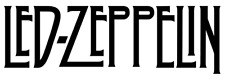 LED ZEPPELIN Decal, Band, Music, Sticker, Vinyl Decal for Car, Windows, Outdoors