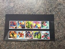 GB 2019 Marvel Comics issue FULL SET OF 10 Stamps
