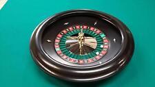 18 Inch Black Molded Bakelite  Roulette Wheel (Made in the USA)