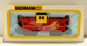 BACHMANN 1057 HO SCALE AT&SF SANTA FE WIDE VISION CABOOSE 999628 NEW IN THE BOX