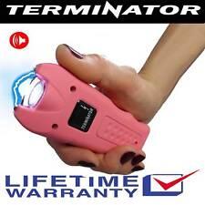 Terminator Max Power Stun Gun with Ear-Piercing Siren + Taser Holster