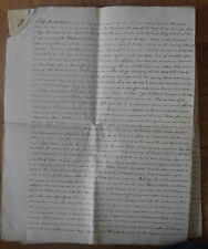 1797 Indenture - Henley in Arden, Warwickshire. Names: Izod and James