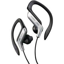 JVC HA-EB75 Ear-Hook Splash Resistant Adjustable Clip Sports Headphones  Silver