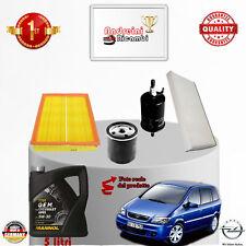 Kit Inspección Filtros + Aceite Opel Zafira A 1.8i 16V 92KW 125CV De 2001 -