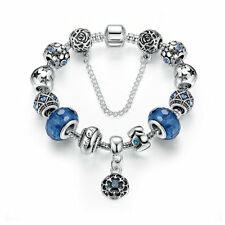 Xmas Love Silver Charm Bracelet European charms beads Love series Bracelet