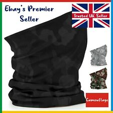 CAMOUFLAGE Beechfield 3 in 1 Face Cover • Original Morf Scarf Breathable Mask
