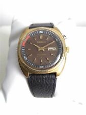 SEIKO BELLMATIC BROWN 4005-6030 AUTOMATIC ALARM 100% JAPAN VINTAGE COLLECTIBLE