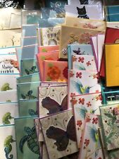 Papyrus Card Lot of 83 Mostly Blank & Thank You