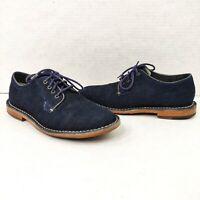 Cole Haan Grand.OS Men's Size 7.5 Grover Oxford Denim Blue Shoes C14336