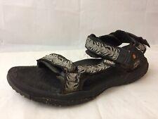 Teva Mens 9 M Sport Sandals Hiking Trail Water 6603 Ankle Strap Adjustable Black