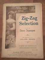 zig-zag selection sheet Music By Dave Stamper