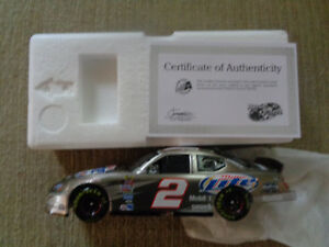 Rusty Wallace ACTION RACE FANS #2 Miller Lite 1/24 2005 Charger  1 OF 504 RARE
