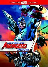 NEW DVD - Ultimate Avengers [Limited Edition Captain America Packaging] - 71min