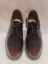 Doc Martens Archie II Cherry Red UK size 3 RRP £109