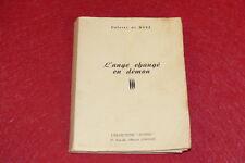 [EROTISME - BIBLIOTHEQUE D'UN AMATEUR] COLETTE DE NUIZ / L'ANGE DEMON  EO 1954
