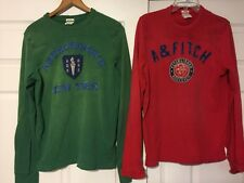 Rare Abercrombie Fitch New York muscle Fit Pullover Distressed Sweatshirts MED