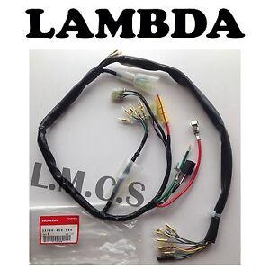 Wiring Harness Loom 12v GENUINE HONDA for 12v Honda CT110 Postie Bikes