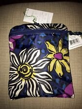Vera Bradley AFIRCAN VIOLET TOTE IN A POUCH Compact Collapsible Shop Travel NWT