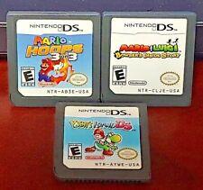 Mario Luigi Inside Story, Mario Hoops, Yoshi's Story Nintendo DS DS Lite 3DS 2DS