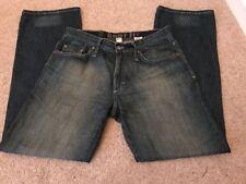 Indigo, Dark wash Bootcut Regular Size Jeans Men's NEXT