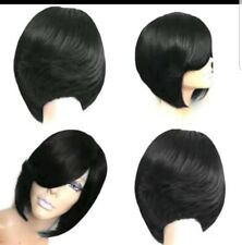"""Fashion Fabulous Synthetic Straight Hair Bob Wigs 10""""  color: Black  New"""