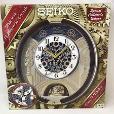 Seiko Melodies in Motion Wall Clock 2020 Swarovski Crystal 30 Melodies QXM386BRh