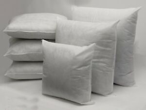 Hollowfibre Cushion Pad Inserts Pack of 10