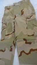 ARMY Desert Camouflage Trousers Cargo Pants Combat Uniform Sz  Small Regular