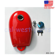 NEW RED FUEL TANK CAP W/ PETCOCK FITS HONDA MINI TRAIL Z50 Z50A Z50J Z50R 50CC