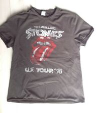 AMPLIFIED THE ROLLING STONES US TOUR 78 CHARCOAL T-SHIRT