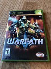 WarPath (Microsoft Xbox, 2006) Cib Game H3