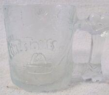 VINTAGE GLASSWARE--McDONALD's FLINTSTONES COFFEE CUP or MUG 1993--VERY NICE!