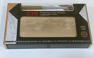 """Chi 1"""" ceramic hair styling iron - COLOR: Nothing Else Matters  Copper Gold New"""